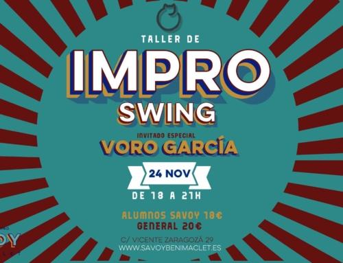 TALLER DE IMPROVISACIÓN – 24 de noviembre