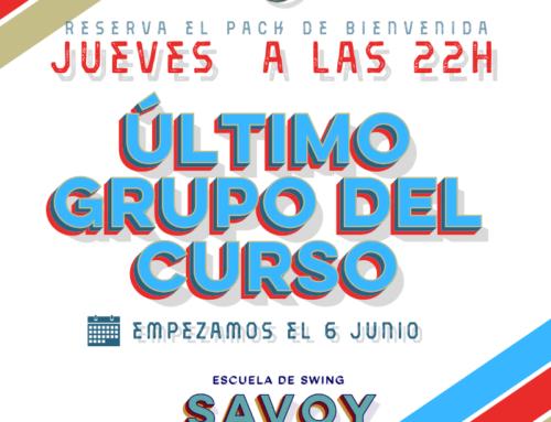 INICIACIÓN LINDY HOP – ¡GRUPO NUEVO!